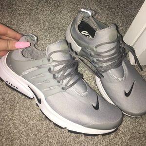 Nike gray prestos